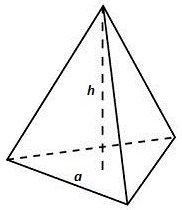 Regular triangular dala